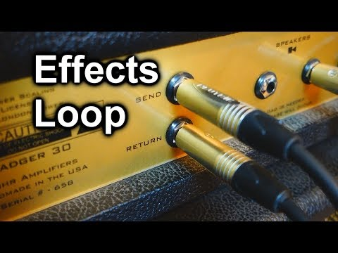 Effects Loop Explanation - How to Plug it & Sound Comparison vs. Front End [Pedalboard Tips #32]