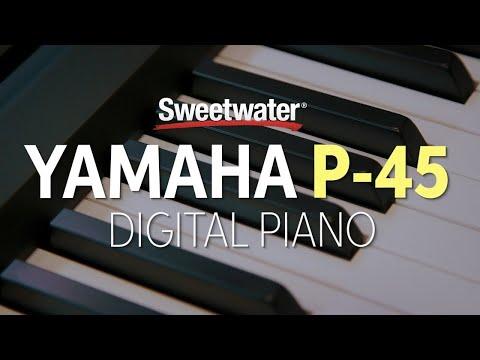 Yamaha P-45 Digital Piano Review