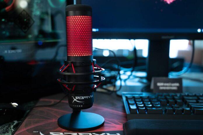 Hyperx quadcast mic