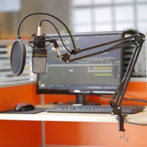Microfoon arm