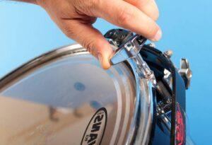 spanschroef en drumsleutel