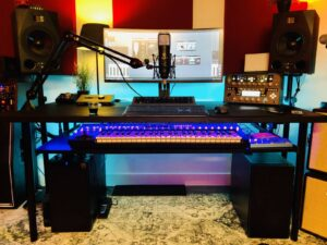 Opname studio Amsterdam