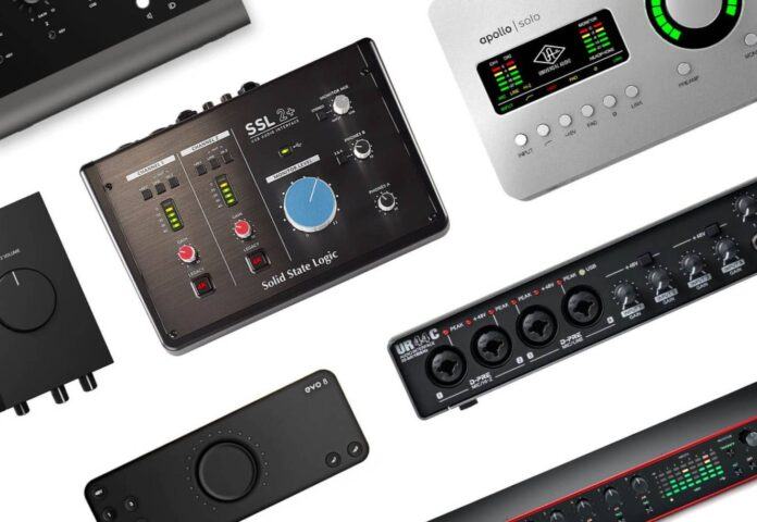 Handleiding audio interfaces