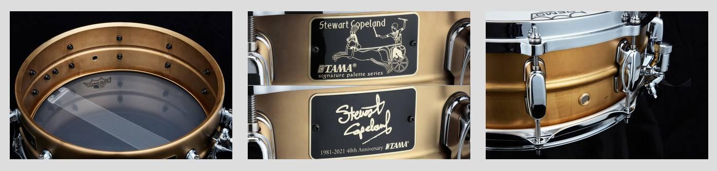 Stewart Copeland signature snare
